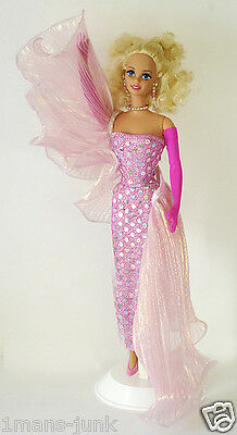 CLASSIQUE COLLECTION PINK EVENING EXTRAVAGANZA BARBIE KITTY BLACK PERKINS 1993 N