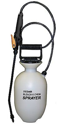 Smith 190285 1-Gallon Bleach and Chemical Sprayer With Non-Corrosive 15-Inch Wan