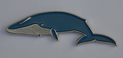 Blue Whale Quality Enamel Pin Badge