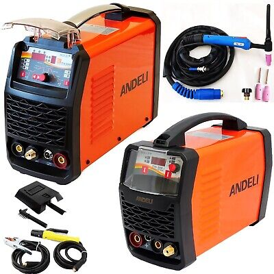 200Amp 250Amp Hf Dc Tig/Mma 2 In 1 Inverter Welders Digital Control +Accessories