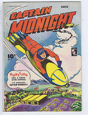 Captain Midnight #29 Fawcett Pub 1945