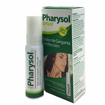 "PHARYSOL SPRAY DOLOR DE GARGANTA E INFECCIÃ""N 30 ml162179"