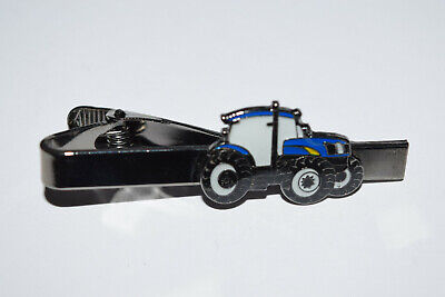 Ford/New Holland Tractor Tie Clip Novelty Farming inc Gift Pouch Enamel Suit