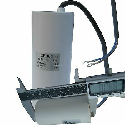 Capacitor - Run Capacitors, 450v, Leads, washing machine, domestic appliance
