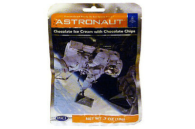 Astronaut Food Double Chocolate Chip Ice Cream