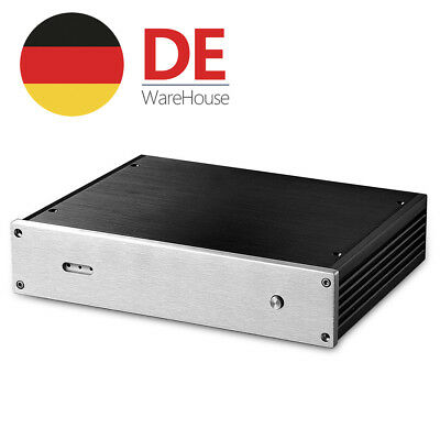Aluminum Chassis HiFi Case Enclosure DAC Cabinet Decoder Gehäuse W280×H62×D211mm