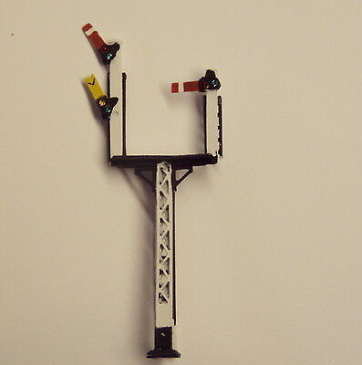P&D Marsh N Gauge N Scale X324R LMS Rhand junction signal PAINTED & finished