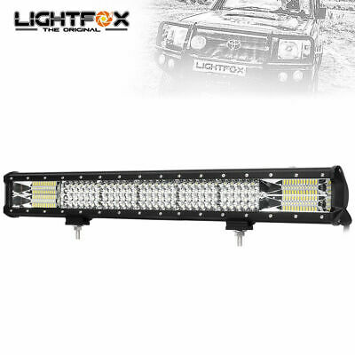 20inch Led Work Driving Light Bar Cree Spot Flood Combo Offroad Lamp 4x4 Truck