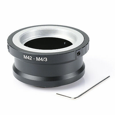 M42 Lens to Micro 4/3 M4/3 Adapter EP1 EP3 EPL1 EPL2 EPL3 G1 GF1 GH1 M42-M43