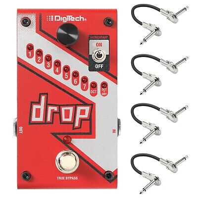 New DigiTech Drop Dedicated Polyphonic Drop Tune Guitar Effects Pedal!