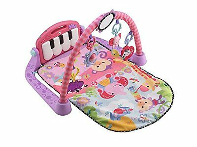 Fisher-Price Kick and Play Piano Gym, Pink , New, Free Shipping
