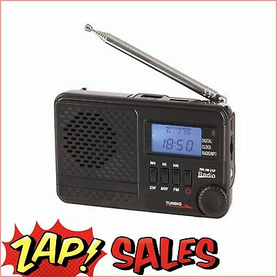 $40 After Discount:Digitech Radio, AM/FM/SW Rechargeable Radio with MP3