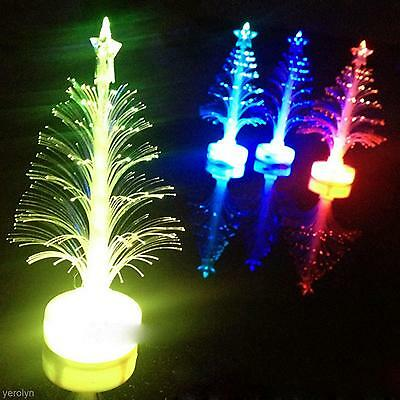 Color Changing Christmas Optical Light Xmas Tree Home Party Display Decoration