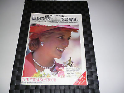 Illustrated London News Dec 1985 Royal Tours-Diana-Princess Of Wales,lloyd's