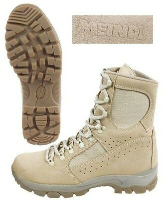British Army Meindl Combat Boots - Brand New - Size Various - Desert Boots