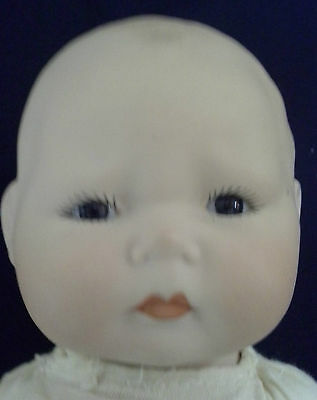 Vintage Horseman 1920's Bisque Baby Doll Head Parts Only