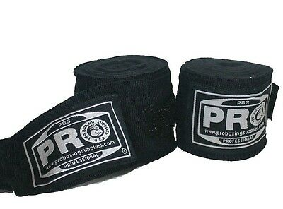 "PRO Boxing MMA 180"" HANDWRAPS ALL COLORS - Pro Boxing Adult PAIR"