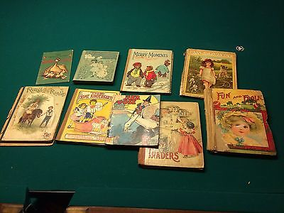 Collection of Antique Children's Books
