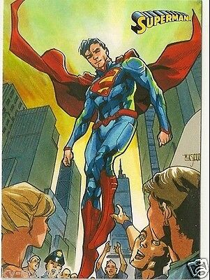 DC COMICS SUPERMAN THE LEGEND TRADING CARDS | COMPLETE SET OF 63 Cards