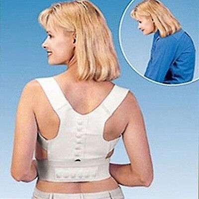 Magnetic Therapy Posture Corrector Bad Back Support Lumbar Belt Brace For Women
