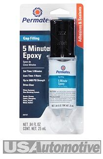 Permatex 84101 5 Minute General Purpose Epoxy Adhesive Glue 25ml