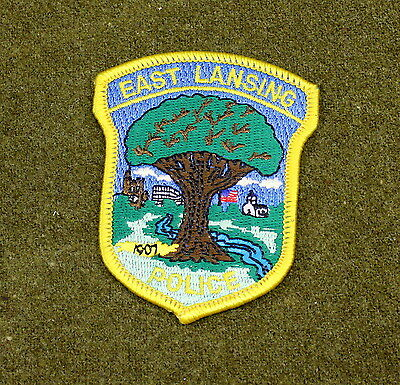 29829) Patch East Lansing Michigan Police Department Sheriff Law Enforcement