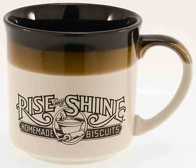 Vintage 1986 Hardees Rise and Shine Homemade Biscuits Collectors Coffee Mug
