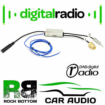 PIONEER Car Radio Stereo Digital DAB + Aerial Antenna Splitter CT27AA136