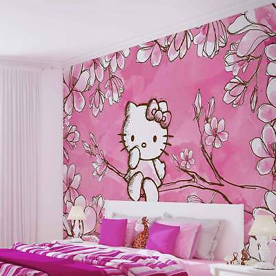 WALL MURAL PHOTO WALLPAPER PICTURE (454P) Hello Kitty Girls Childrens
