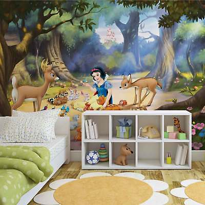 WALL MURAL PHOTO WALLPAPER PICTURE (534P) Disney Snow White Girls Bedrooms