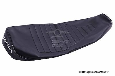 Black seat cover for honda chaly CF50 CF70 many color choices 56cm lenght