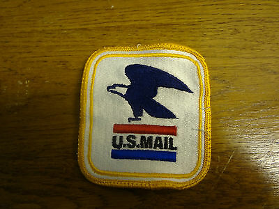 United states postal patch. US Mail with Blue eagle