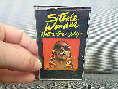 STEVIE WONDER_Hotter Than July_used cassette_ships from AUS!_S3