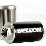 Weldon Racing Fuel Pump EFI and Carbureted Filter Assembly WEQ12100SSN