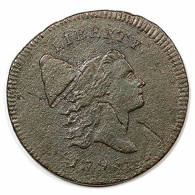 1795 C-6a R2 Liberty Cap Half Cent Coin 1/2c Ex; Davy Collection