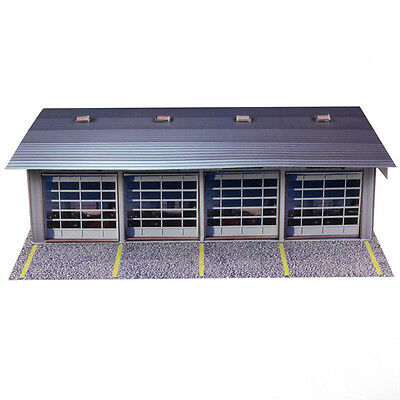 "1:64 SCALE ""4 STALL PIT GARAGE"" KIT COMPATIBLE W/ AURORA SLOT CARS"