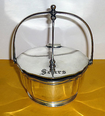 Vintage Reed & Barton SEARS Steamed Silver Soldered Divided Condiment Holder