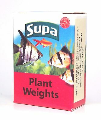 Supa Plant Weights Boxed 10 x Small Lead Strips S130