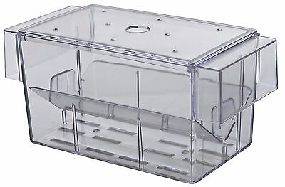 Trixie Guppy Trap Fish Breeding 2 Way Aquarium Spawning Hatchery with Lid 8050