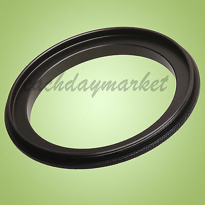 46mm-46mm 46-46 mm Male to Male Double Lens Coupling reverse macro Adapter Ring
