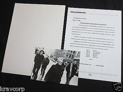 Radiohead—1995 Press Kit—Postcard