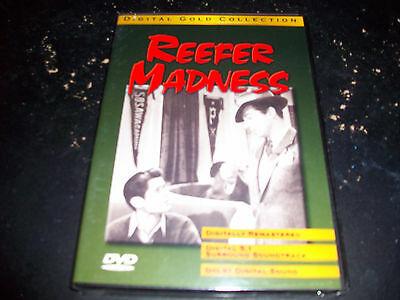 CLASSIC MOVIE: REEFER MADNESS!! BRAND NEW & FACTORY SEALED!! REMASTERED!!!!