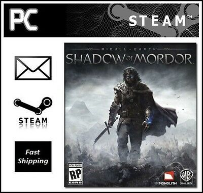 Middle-earth Shadow of Mordor PC Steam [ WORLDWIDE ]
