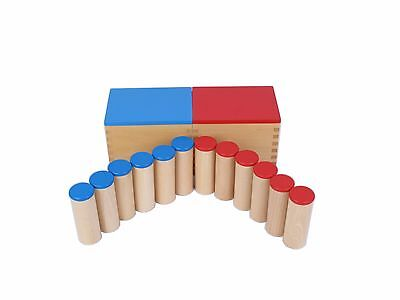 NEW Montessori Sensorial Auditory Material - Sound Cylinders (Sound Boxes)