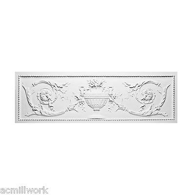 """Pediment Shabby French Chic 39"""" top door window frame wall design D140"""