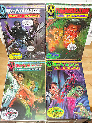 Adventure Comics DAWN OF THE RE-ANIMATOR Complete Set # 1-4 VF/- 1992