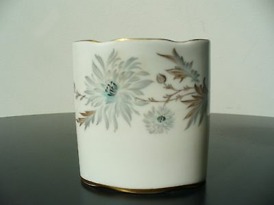 "COALPORT Bone China Cigarette Holder in ""My Fair Lady"" pattern- made in England"