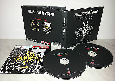 2 Cd Queensryche - Operation Mindcrime - Queen Of The Reich - Deluxe Collector