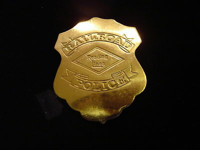 Rail Road Police Lawman Police Lawman Badge: C.R.I /& P.RR