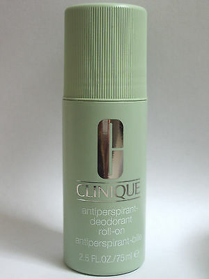 CLINIQUE Antiperspirant-Deodorant Roll-On FULL SIZE 75ml NEW*Fragrance-Free